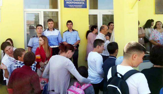Foto: IPJ Constanţa, mesaj pentru elevi, părinţi şi profesori
