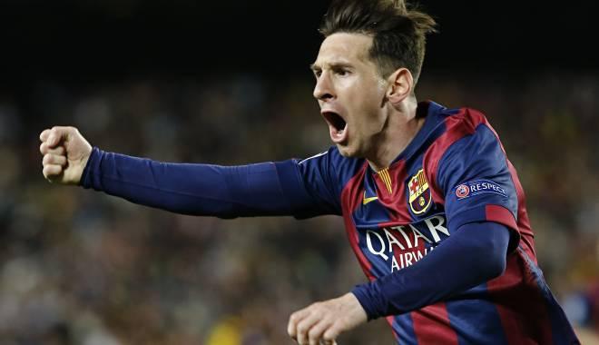 Foto: Lionel Messi, posibil câștigător al Balonului de Aur 2015
