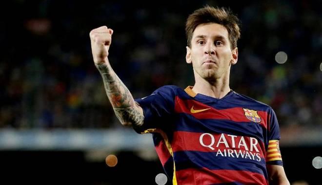 Foto: Fotbal: Messi va încasa din vară 40 milioane euro pe sezon la FC Barcelona