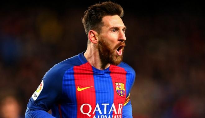 Foto: Messi, la al 600-lea meci pentru Barcelona