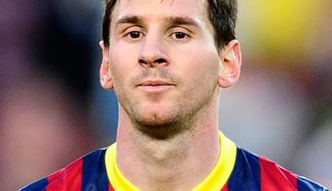 Foto: Fotbal: Messi se apropie de recordul lui Raul Gonzalez în cupele europene