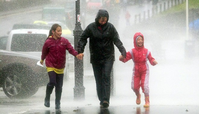 Sezonul anomaliilor meteo în Europa