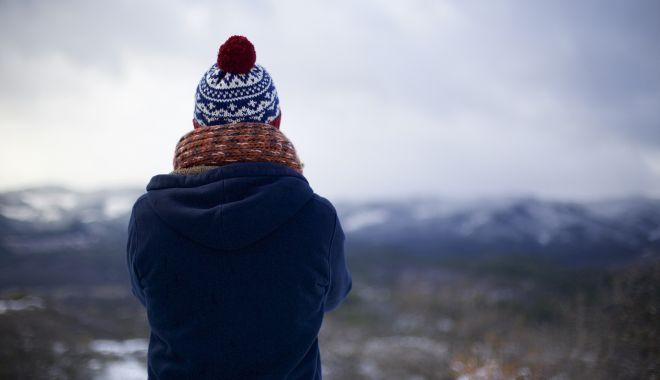 Foto: Avertizare de la meteorologi: Vreme deosebit de rece, ninsori şi vânt puternic