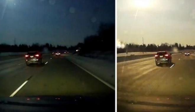 Foto: Un meteorit căzut a provocat un cutremur de mică intensitate