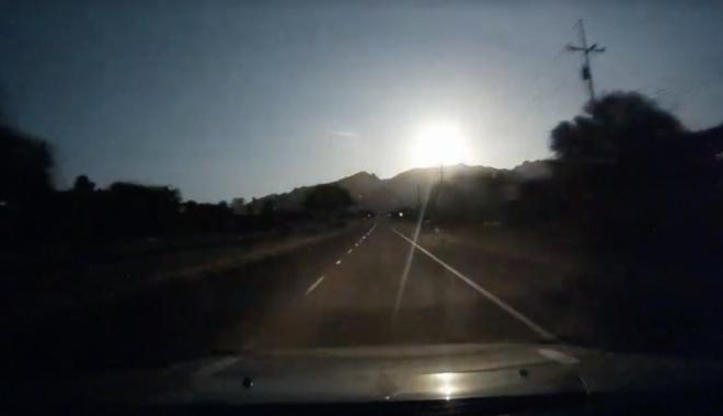 Un meteorit a explodat deasupra Statelor Unite