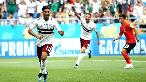 Foto: CM 2018. Mexic se impune în fața Coreei de Sud și e ca și calificată în optimi, scor final 2-1