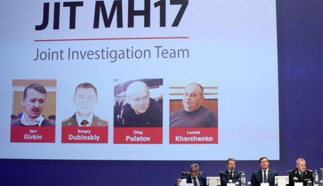 Foto: Rusia critică ancheta autorităților olandeze legată de prăbușirea avionului MH17