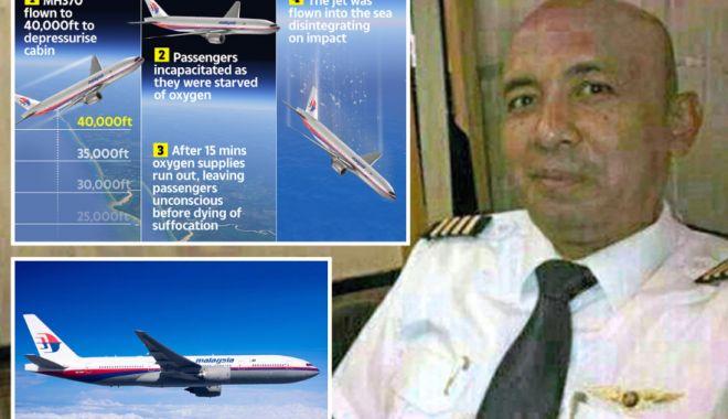Foto: Pilotul zborului MH370 ar fi înălțat avionul prea mult, intenționat, pentru ca pasagerii să-și piardă cunoștința