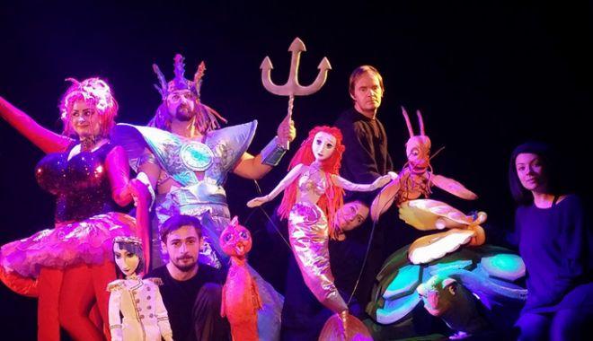 """Foto: """"Mica sirenă"""", pe scena Teatrului pentru Copii și Tineret"""