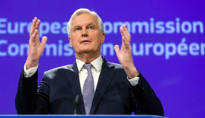 Foto: Michel Barnier propune prelungirea negocierilor cu Marea Britanie privind Brexit-ul
