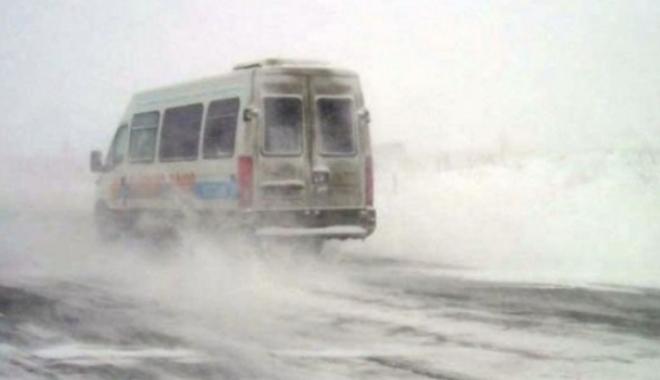 Foto: Nu mai circulă microbuzele și autobuzele în județul Constanța! Care sunt excepţiile - UPDATE