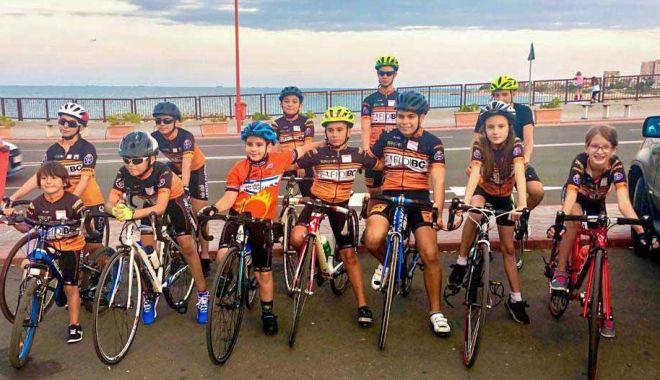 Foto: Micuții cicliști constănțeni, rezultate bune la Naționalele de la Târgu Mureș