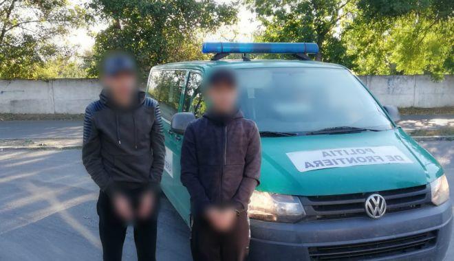 Prinşi de poliţiştii de frontieră din Constanţa, în timp ce voiau să intre ilegal în România - migranti1-1538305557.jpg