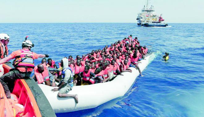 Foto: Italia a intrat în conflict cu Uniunea Europeană pe tema migranților