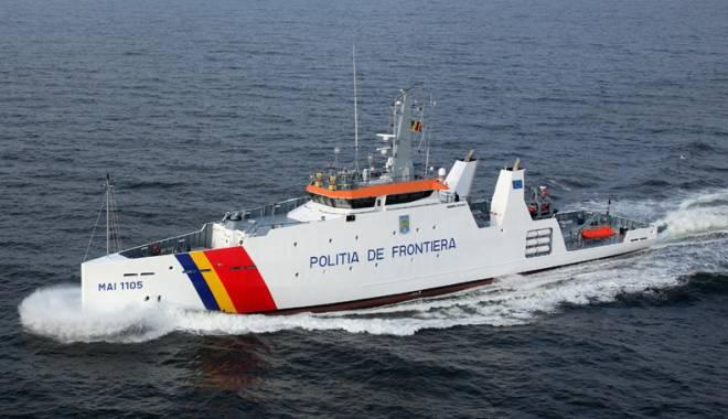 Foto: Misiune pe mare! 119 migranţi, salvaţi de la moarte de poliţiştii constănţeni
