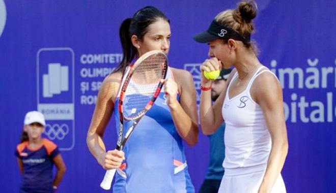 Foto: Mihaela Buzărnescu, eliminată  în semifinalele turneului de la Bucureşti