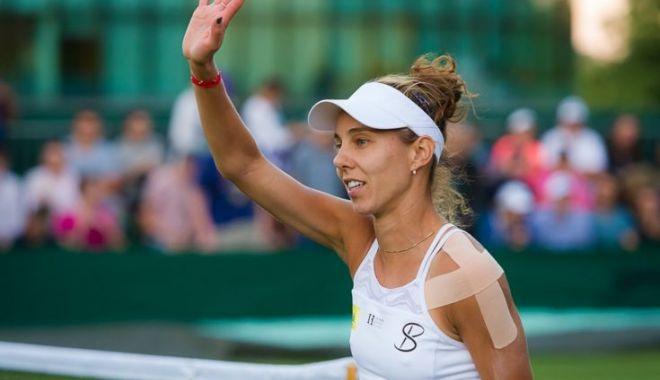 Foto: Mihaela Buzărnescu, eliminată în turul 3 de la Wimbledon, după ce a pierdut în fața Karolinei Pliskova