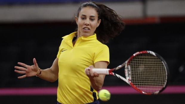 Foto: Tenis, Fed Cup. Mihaela Buzărnesu, învinsă de Carolina Garcia