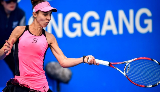 Foto: Tenis / Mihaela Buzărnescu a pierdut finala turneului WTA de la Hobart