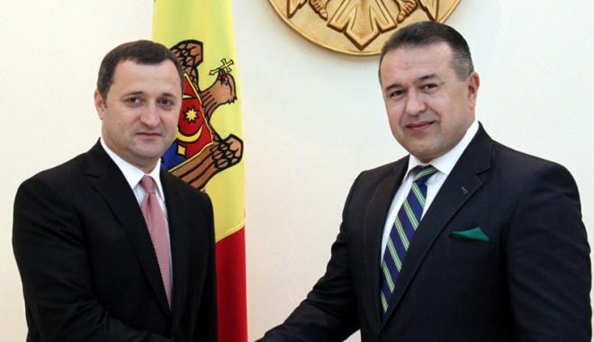 Foto: Mihai Daraban, vizită la nivel înalt în Republica Moldova
