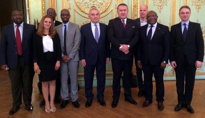Foto: Mihai Daraban, preşedintele CCIR, la Paris