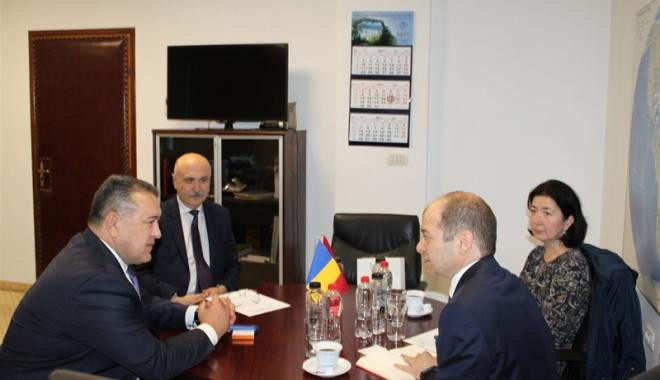 Mihai Daraban a primit vizita consulului general al Republicii Turcia la Constanţa - mihaidaraban4-1495207707.jpg