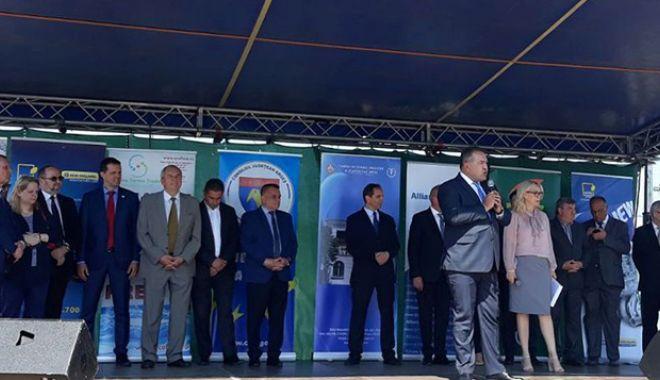 Foto: Mihai Daraban a deschis Târgul Agro Pitești