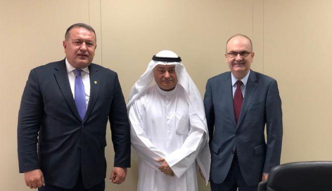 Foto: Mihai Daraban conduce o misiune economică în Kuwait