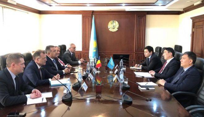 Foto: Mihai Daraban - misiune economică în Kazakhstan