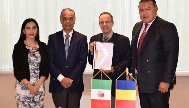 Foto: Mihai Daraban a primit delegația Parlamentului mexican