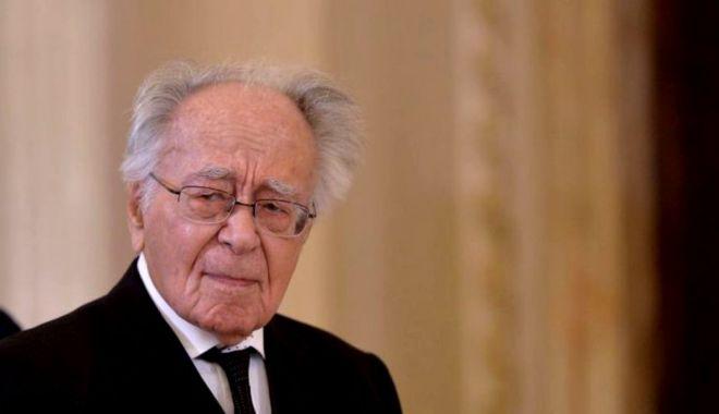 Foto: Filosoful Mihai Şora a împlinit vârsta de 102 ani