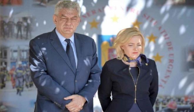 """Foto: Tudose dă de pământ cu Carmen Dan: """"Dacă îşi dă demisia, o accept"""""""