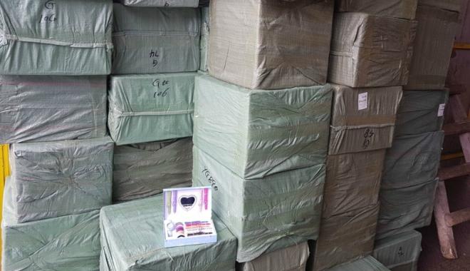 Foto: Mii de ceasuri nedeclarate, confiscate în Portul Constanţa