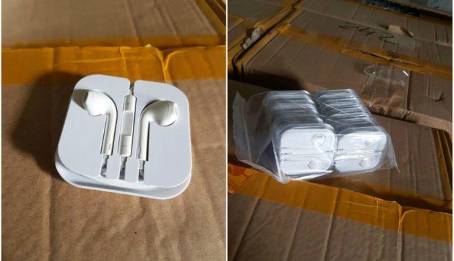 Foto: Mii de produse contrafăcute, confiscate  în Portul Constanța