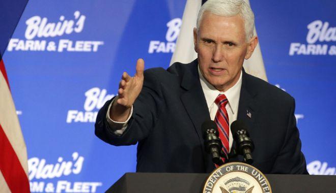 Foto: Mike Pence: Statele Unite sunt deschise  la discuții cu Coreea de Nord