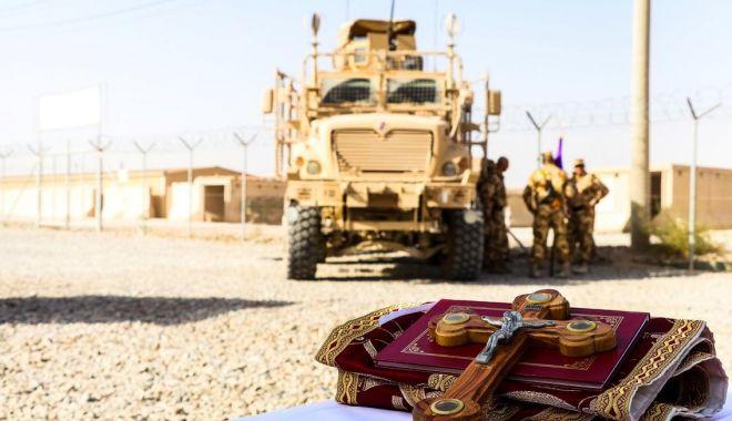 Foto: Informaţie de ULTIMĂ ORĂ despre militarii răniți, luni, în Afganistan