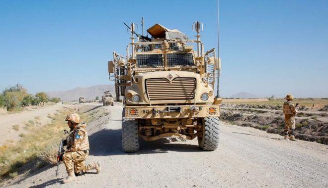 Foto: Cine sunt militarii răniţi, astăzi, în Afganistan. Au fost internaţi în spital!