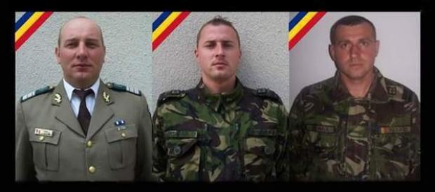 Foto: Cei trei militari morţi, înmormântaţi azi. Situaţia dotărilor din Armată, analizată în CSAT