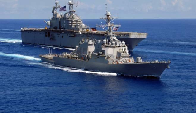 Foto: Militarii americani s-au antrenat cu românii, în Marea Neagră