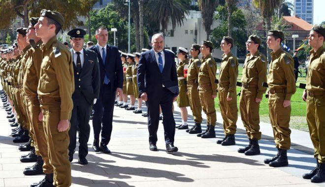 Foto: Ministrul Apărării Naţionale s-a întâlnit cu omologul său din Israel