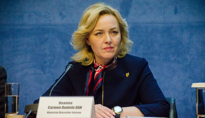 Foto: Ministrul Afacerilor Interne, în discuţii despre securitatea Uniunii Europene