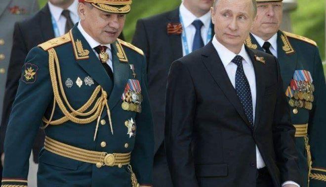 Foto: Ministrul rus al Apărării a dat ordin pentru reactualizarea conceptului de război
