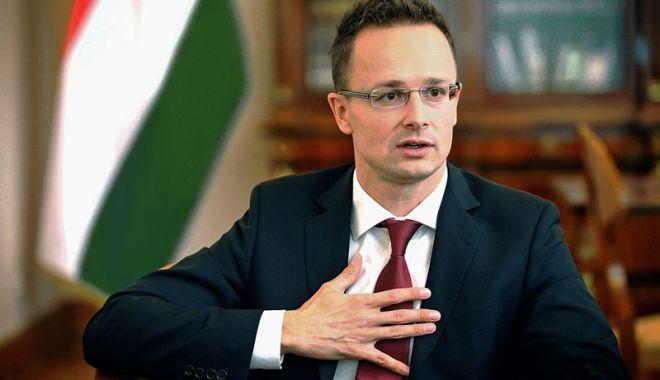 Foto: Ministrul de Externe ungar: România poate conta pe susţinerea noastră