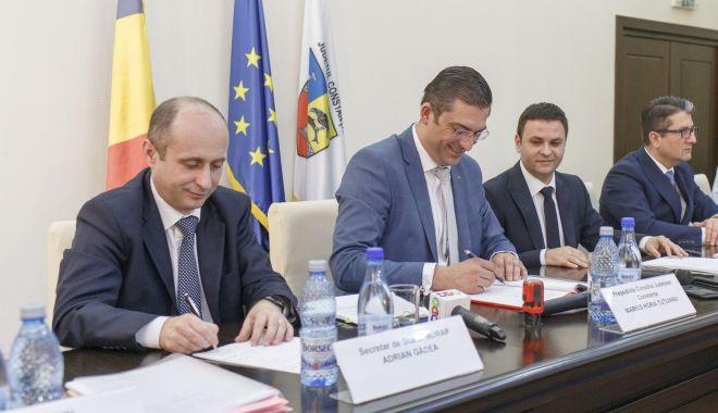 Foto: Ministrul Dezvoltării, prezent la Constanța. Ce investiții se află pe agenda acestuia