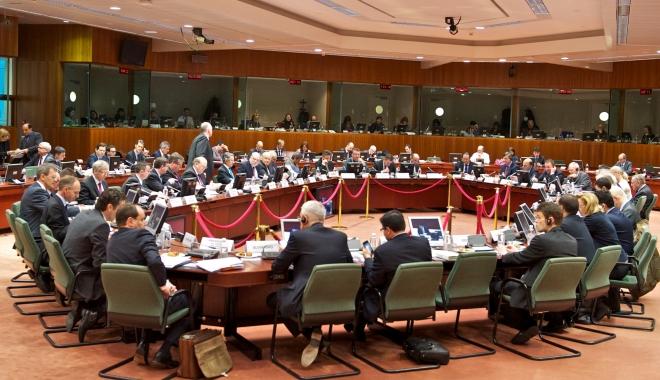 Foto: Ministrul Finanţelor, Ionuţ Mişa la reuniunea Ecofin