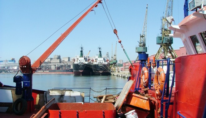 Foto: Misiune de afaceri belgiană în portul Constanţa