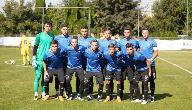 Foto: Misiune dificilă  pentru FC Viitorul,  în Youth League