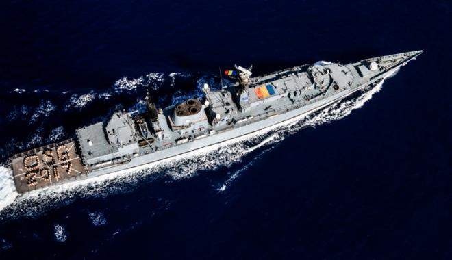 """Foto: Misiune îndeplinită pentru Fregata """"Regele Ferdinand"""""""
