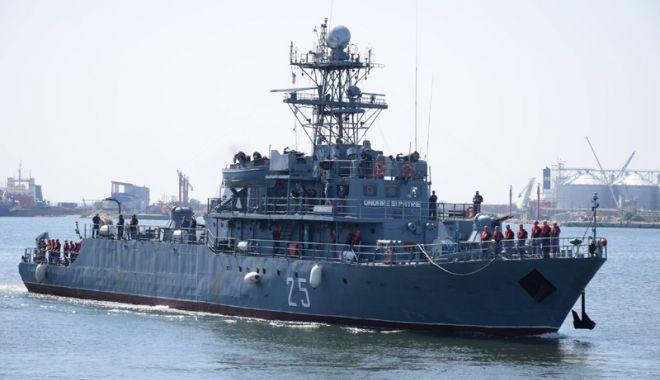 """Foto: Misiune îndeplinită pentru Fregata """"Regele Ferdinand"""" şi Dragorul Maritim """"Lt. Lupu Dinescu"""""""
