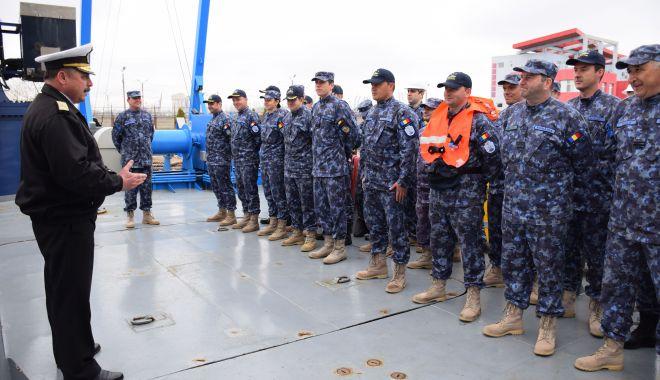 """Foto: """"Misiune îndeplinită!"""" Nava maritimă hidrografică """"Alexandru Cătuneanu"""" s-a întors acasă"""